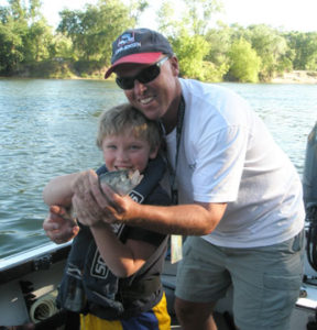 Fishing Guide Bob Sparre