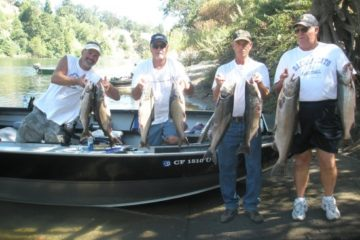 Salmon fishing the American,Feather and Sacramento