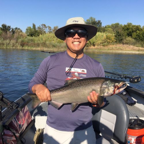 Get your salmon on bob sparre fishing guide services for Feather river salmon fishing
